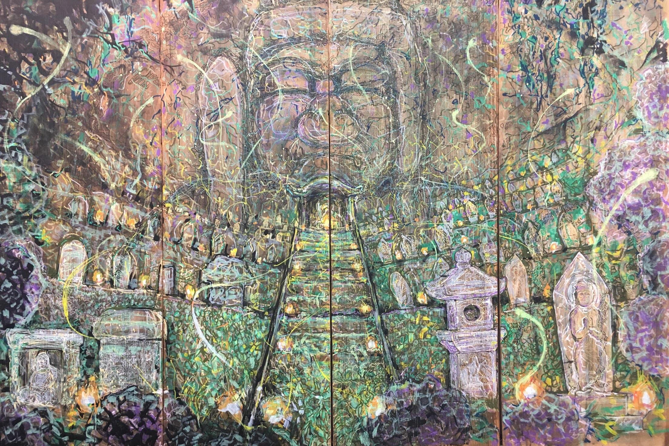 真澄アキヒロの普光寺夜想-あめのゆらゆら-の作品写真